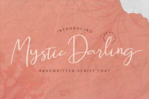 Mystic Darling - Handwritten Font