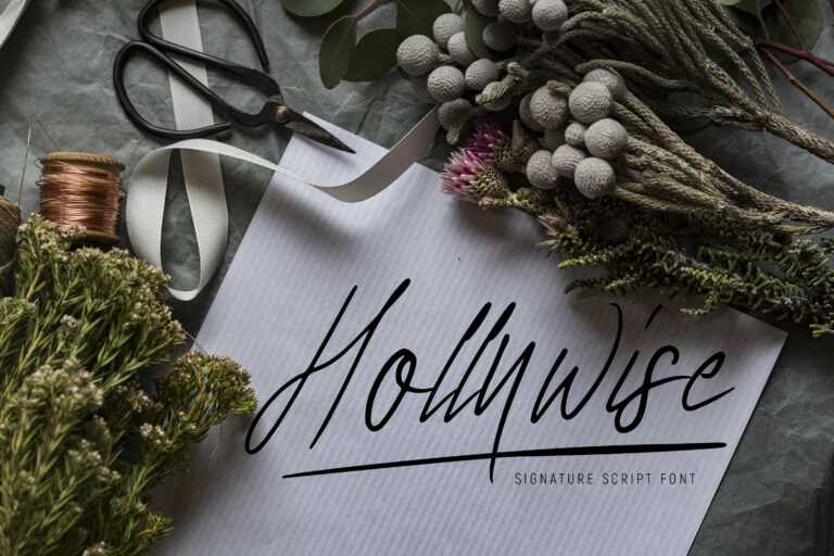 Preview image of Hollywise – Signature Script Font
