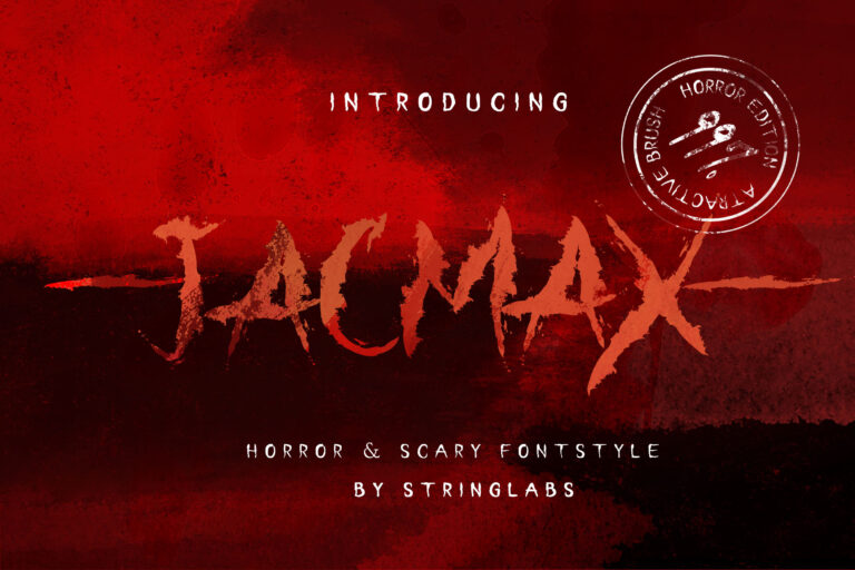 Preview image of Jacmax – Horror Font
