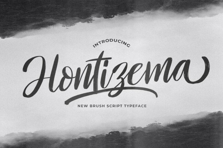 Preview image of Hontizema – Handwritten Font
