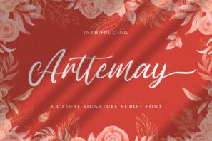 Arttemay - Handwritten Font