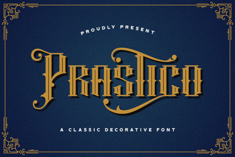 Preview image of Prastico – Blackletter Font
