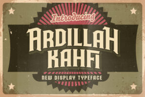 Ardilah Kafi - Victorian Style Font