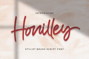 Honilley - Handwritten Font