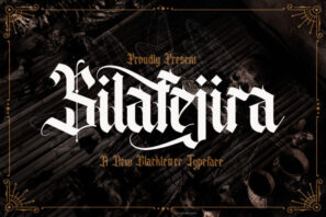 Silafejira - Blackletter Font