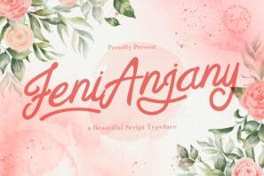 Feny Anjany - Handwritten Font