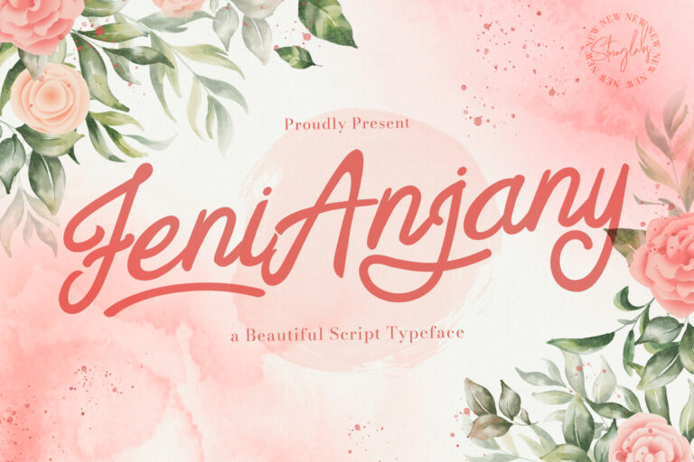 Preview image of Feny Anjany – Handwritten Font