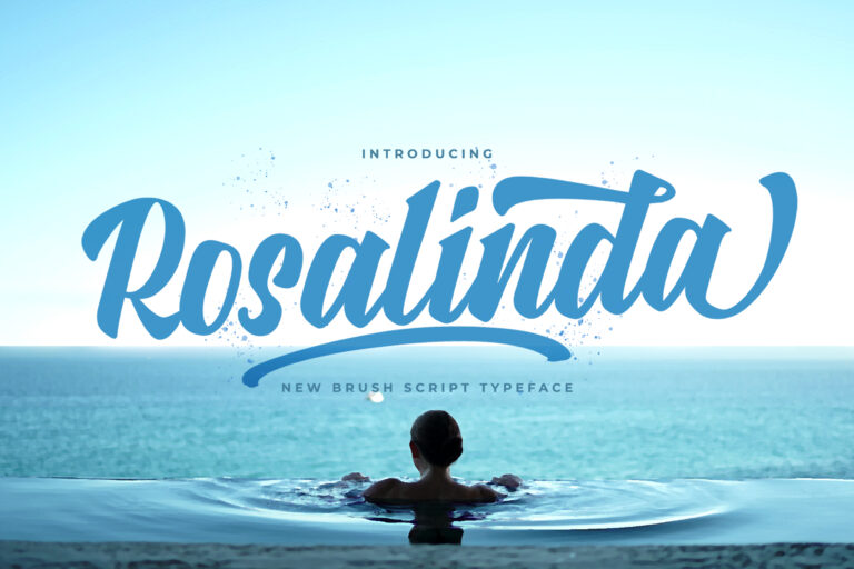 Preview image of Rosalinda – Bold Script Font