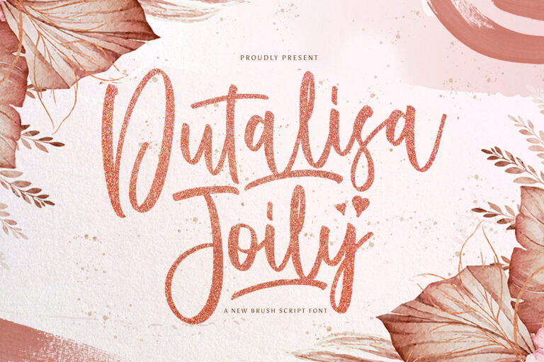 Preview image of Dutalisa Joily – Handwritten Font