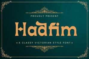 Hadfim - Blackletter Font