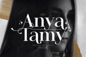 Anya Tamy - Classic Serif Font