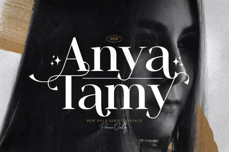 Preview image of Anya Tamy – Classic Serif Font