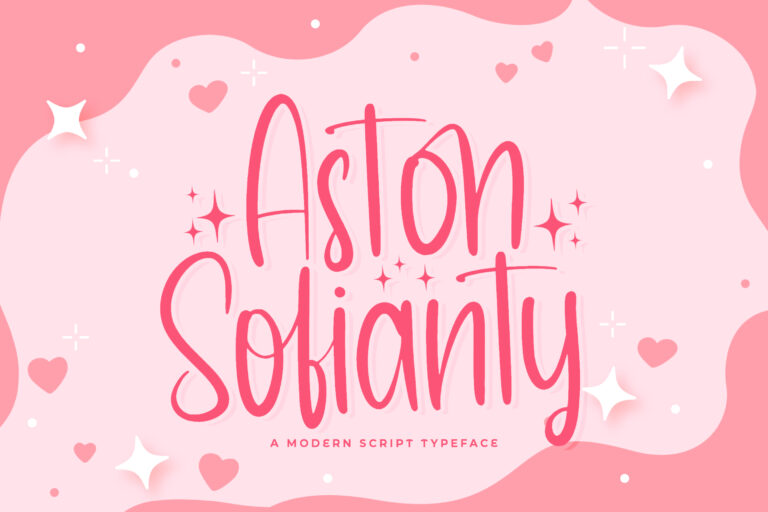 Preview image of Aston Sofianty – Handwritten Font