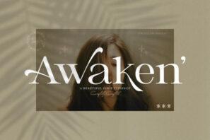 Awaken - Casual Serif Font