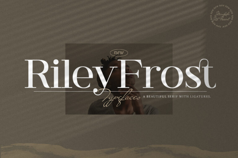 Preview image of Riley Frost – Casual Serif Font