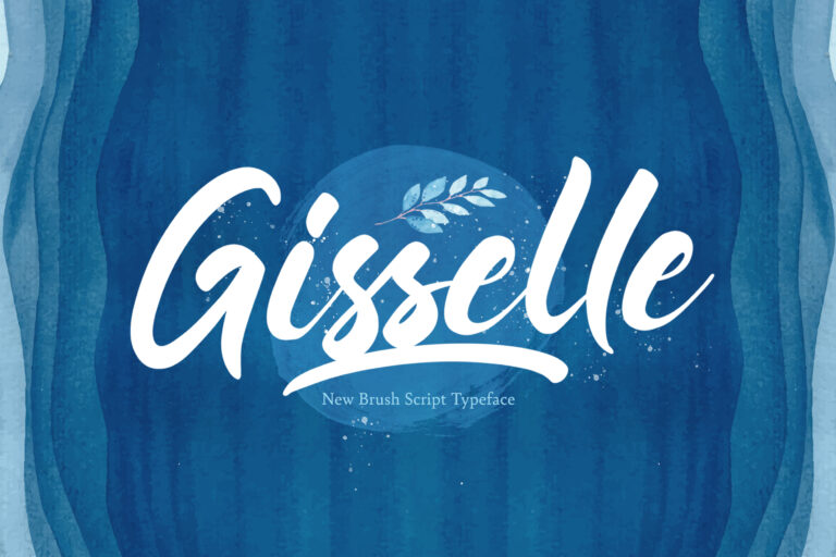 Preview image of Gisselle – Bold Script Font