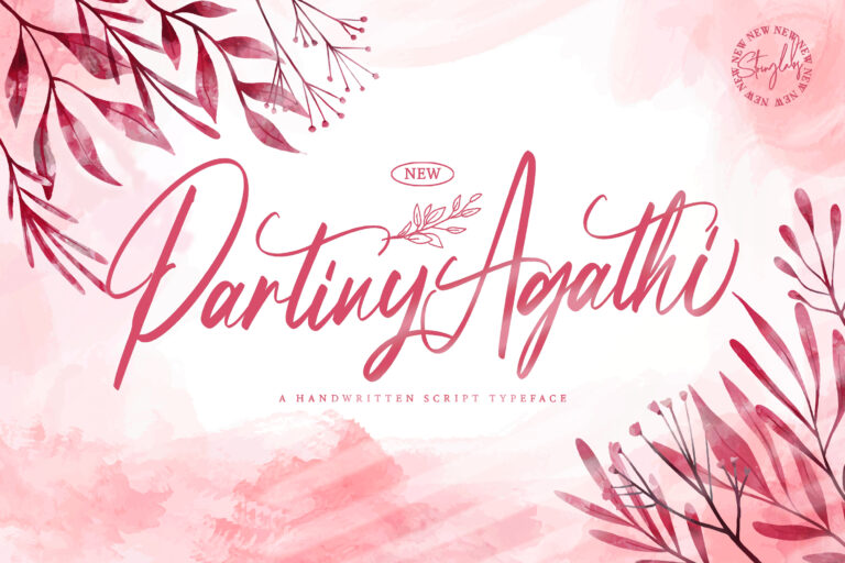 Preview image of Partiny Agathi – Handwritten Font