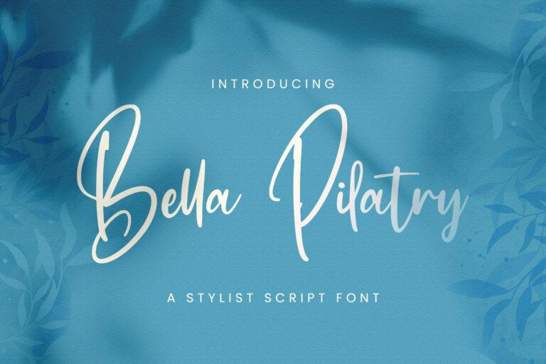 Preview image of Bella Pilatry – Handwritten Font