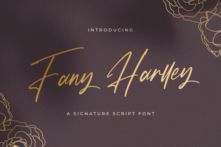 Preview image of Fany Harlley – Handwritten Font