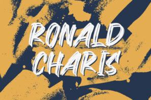 Ronald Charis - Textured Brush Font