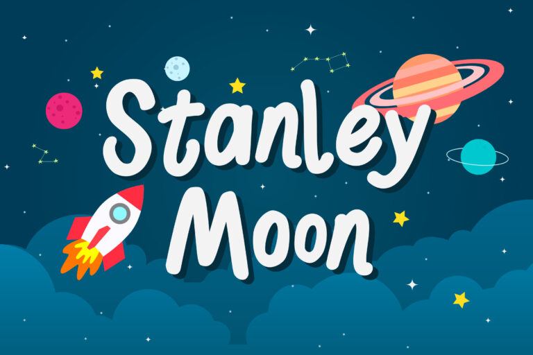 Preview image of Stanley Moon – Playful Display Font
