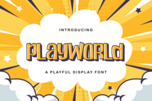 Playworld - Playful Display Font