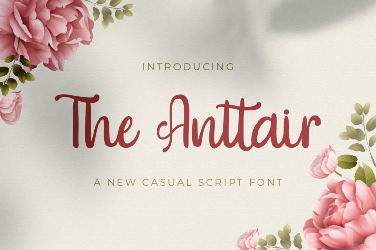 Preview image of The Anttair – Handwritten Font