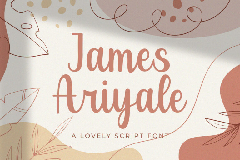 Preview image of James Ariyale – Handwritten Font