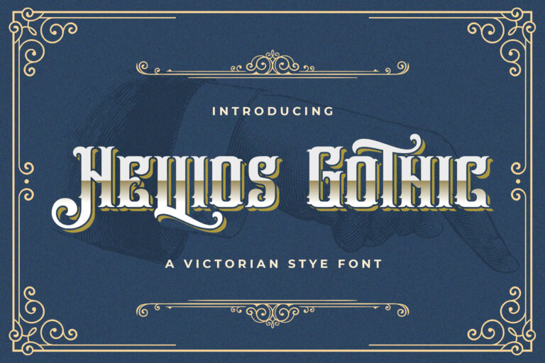 Preview image of Hellios Gothic – Blackletter Font