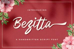 Bezitta - Handwritten Font