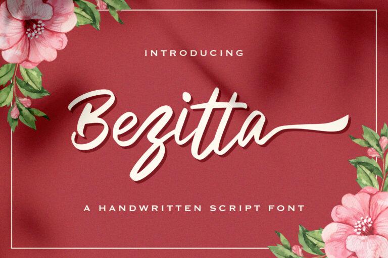 Preview image of Bezitta – Handwritten Font