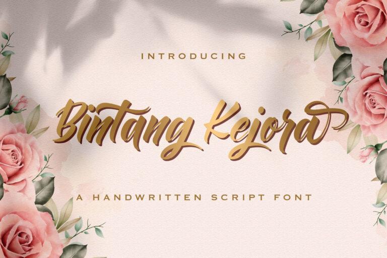 Preview image of Bintang Kejora – Handwritten Font