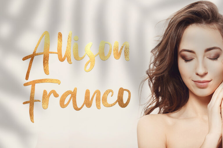 Preview image of Allison Franco – Handwritten Font