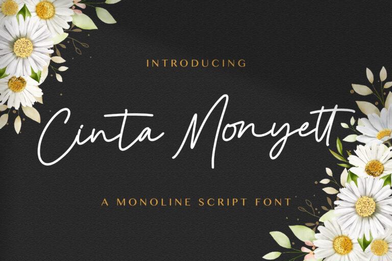 Preview image of Cinta Monyett – Handwritten Font
