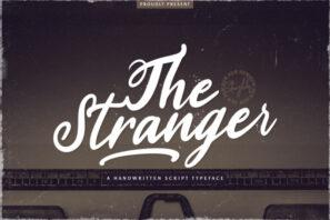 Stranger - Handwritten Font