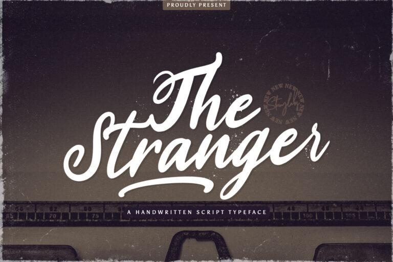 Preview image of Stranger – Handwritten Font