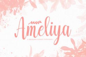 Ameliya - Handwritten Font