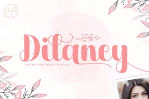 Dilaney - Handwritten Font