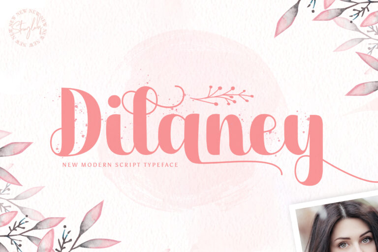 Preview image of Dilaney – Handwritten Font