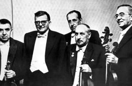 Beethoven Quartet with Shostkovich, Courtesy of Bridgeman Images