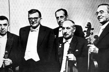 Beethoven Quartet with Shostkovich, Courtesy of Bridgeman Images