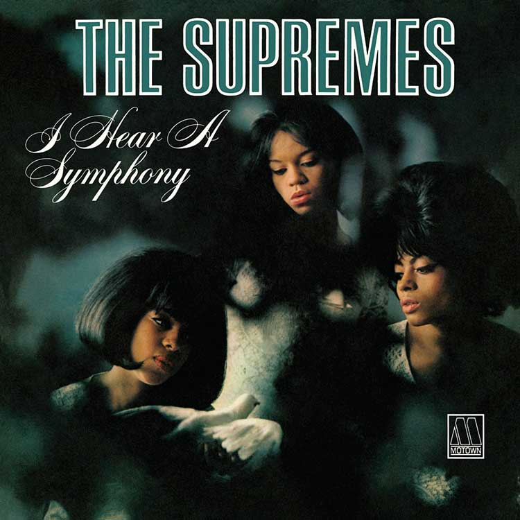The Supremes, I Hear a Symphony album cover