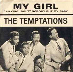 The Temptations, My Girl album cover