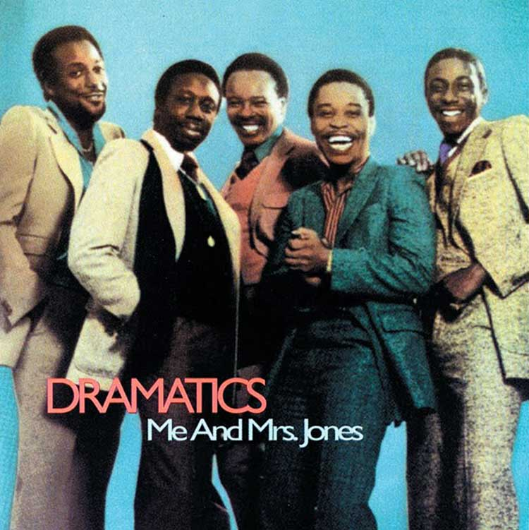 The Dramatics, Me and Mrs. Jones album cover