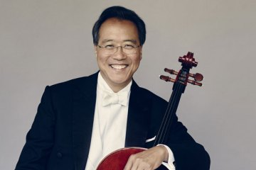 Yo-Yo Ma Cello by Jason Bell