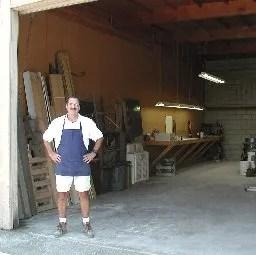 Rosin maker Jim Early at his warehouse