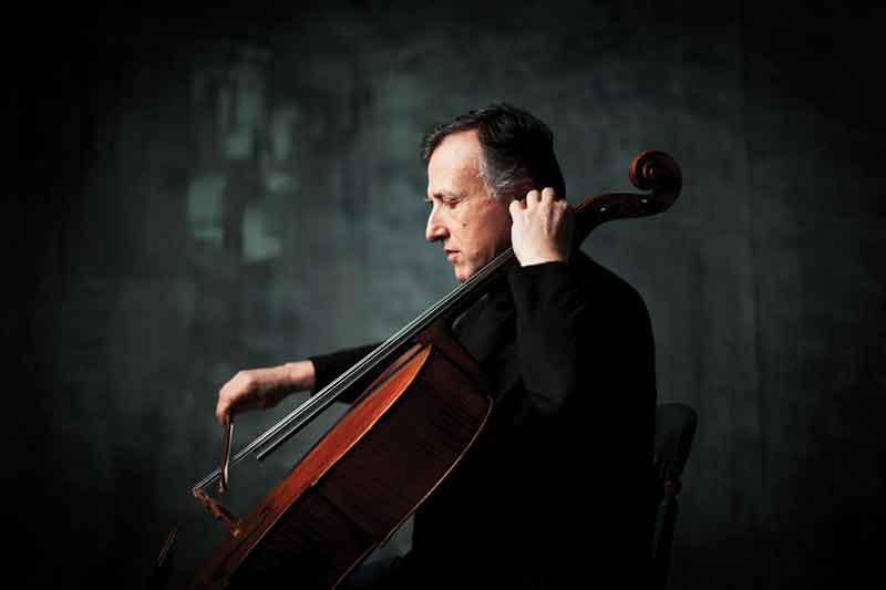 Raphael Wallfisch. Photo by Alastair Merrill