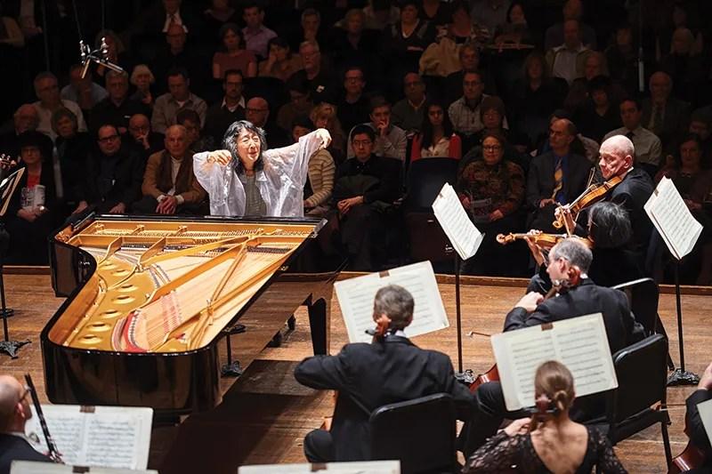 Mitsuko Uchida performs at Severance Hall. Photo by Roger Mastroianni