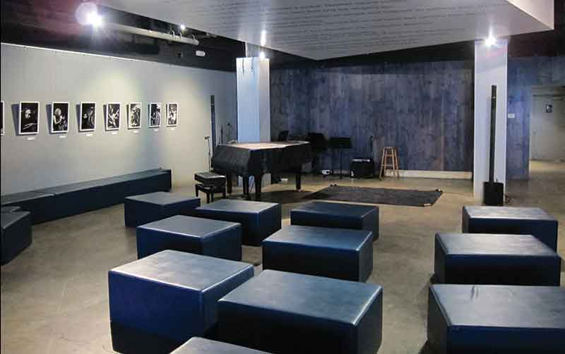Los Angeles music venue the Blue Whale performance room
