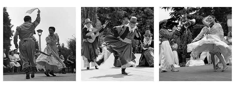 Argentine Folk Dance. Photos by Annemarie Heinrich